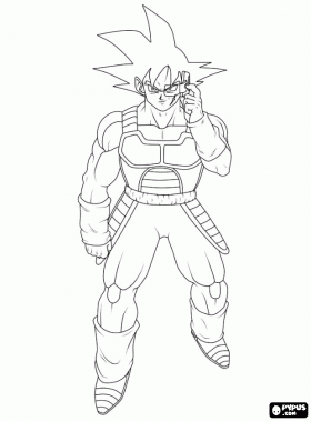 Bardock Personajes Dragon Ball Super Broly