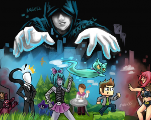 mural-dibujo-animado-rubius-virtual-hero