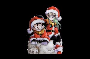 goku-y-bulma-navidad