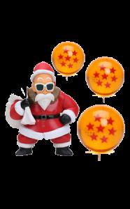 mutenroshi-papa-noel-navidad-bolas-de-dragon