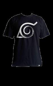 camiseta-konoha-naruto-negra