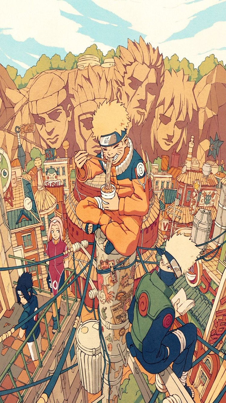 Wallpaper Para Móvil De Naruto De Anime