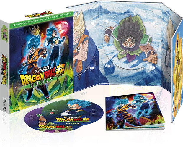 Edicion-coleccionista-dragon-ball-super-broly-dvd-bluray