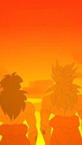 broly-de-espaldas-fondo-de-pantalla-movil-naranja