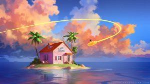 kame-house-dragon-ball-casa-de-muten-roshi-maestro