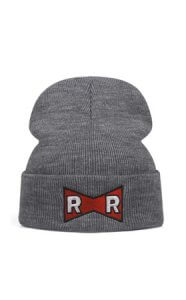 gorro gris red ribbon dragon ball