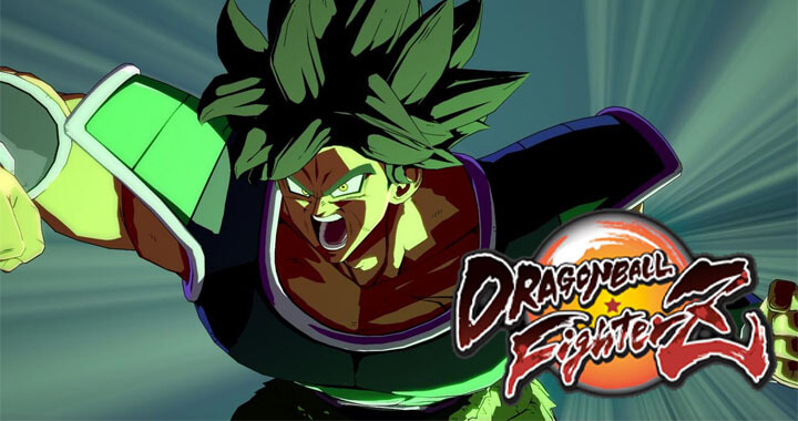 trailer dragon ball fighterz broly dragon ball super