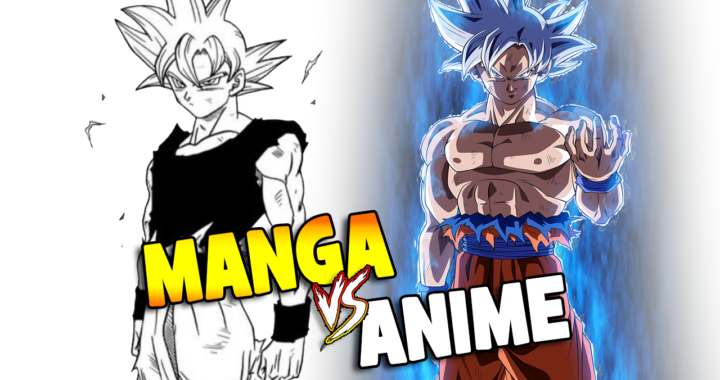 anime vs manga dragon ball super