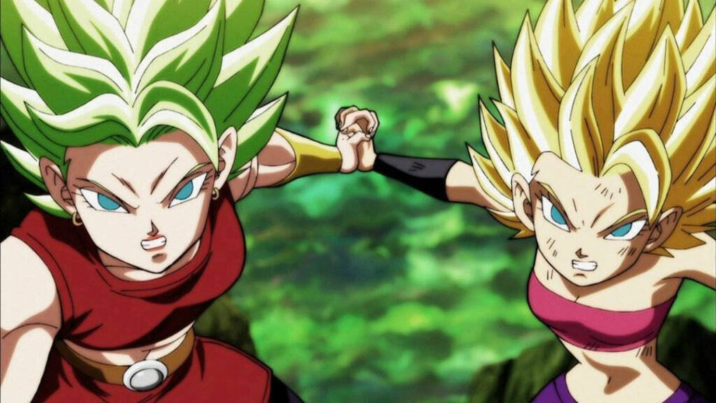 caulifla y kale dragon ball machismo