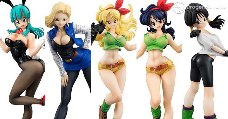 figuras gals dragon ball