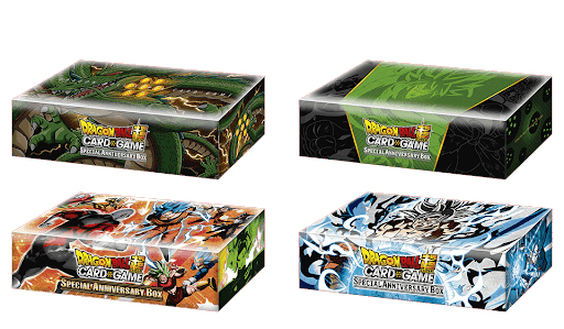 anniversary box dragon ball super card game