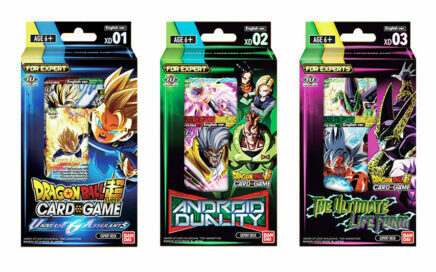 expert deck dragon ball super card game