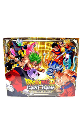 ultimate box dragon ball super card game